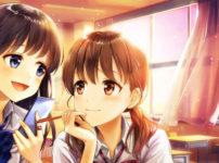 女子高生のゲームイラスト